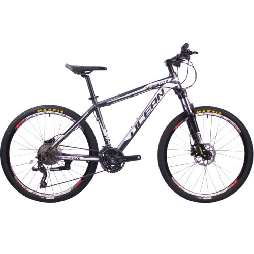 26 inch Alloy frame Alloy lockable fork SHIMANO M610 30 speed Hydraulic disc brake Mountain bike MTB bicycle