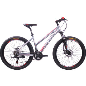 26 inch Alloy frame Steel fork SHIMANO 21 speed disc brake Mountain bike MTB bicycle丨OC-18M26021A22