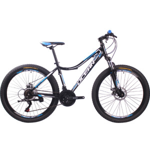26 inch Steel frame Steel fork SHIMANO 21 speed disc brake Mountain bike MTB bicycle OC-18M26021AS23