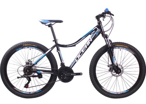 26 inch Steel frame Steel fork SHIMANO 21 speed disc brake Mountain bike MTB bicycle OC-18M26021AS23