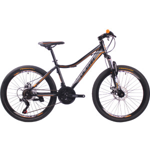 26 inch Steel frame Steel fork SHIMANO 21 speed disc brake Mountain bike MTB bicycle OC-18M24021S24