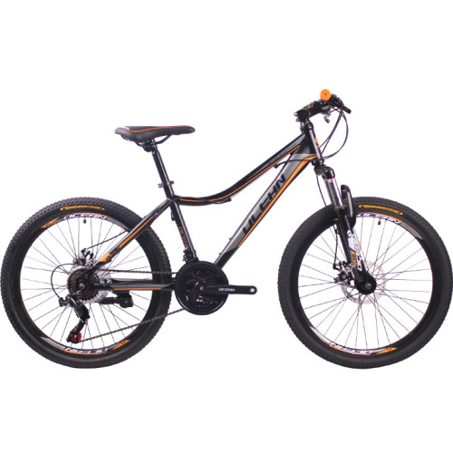 26 inch Steel frame Steel fork SHIMANO 21 speed disc brake Mountain bike MTB bicycle
