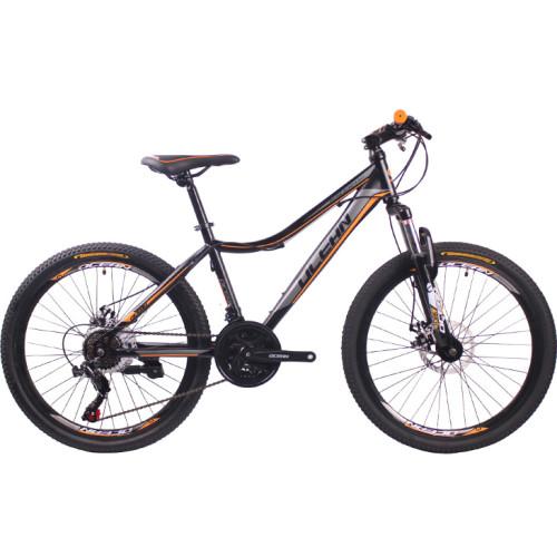 26 inch Steel frame Steel fork SHIMANO 21 speed disc brake Mountain bike MTB bicycle OC-18M24021S24