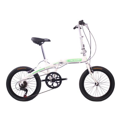 20 inch Steel frame Steel fork SHIMANO 7 speed Double V brake Folding bike bicycle