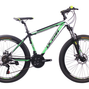 26 inch Aluminum alloy Half-alloy lockable fork SHIMANO 21 speed disc brake Mountain bike MTB bicycle