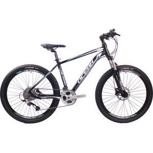 26 inch Aluminum alloy frame alloy lockable fork 30 speed Hydraulic disc brake Mountain bike MTB bicycle