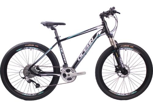 26 inch Aluminum alloy frame alloy lockable fork 30 speed Hydraulic disc brake Mountain bike MTB bicycle