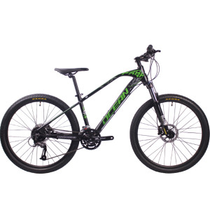 26 inch Aluminum alloy frame SHIMANO M370 27 speed Hydraulic disc brake Mountain bike MTB bicycle