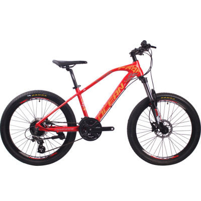 24 inch Alloy frame Half-alloy lockable suspension fork SHIMANO M310 24 speed MTB mountain bike