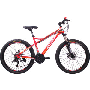 26 inch Aluminum alloy Half-alloy lockable fork SHIMANO 21 speed disc brake Mountain bike MTB bicycle OC-18M26021A53
