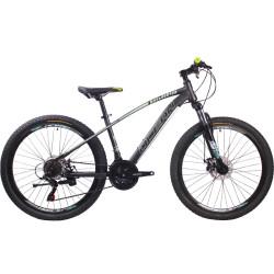 26 inch Hi-ten steel frame fork SHIMANO 21 speed disc brake Mountain bike MTB bicycle