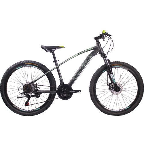 26 inch Hi-ten steel frame fork SHIMANO 21 speed disc brake Mountain bike MTB bicycle OC-18M26021A55