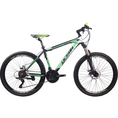 26 inch Aluminum alloy Half-alloy lockable fork SHIMANO 21 speed disc brake Mountain bike MTB bicycle