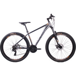 26 inch Aluminum alloy Half-alloy lockable fork SHIMANO 21 speed Hydraulic disc brake Mountain bike MTB bicycle