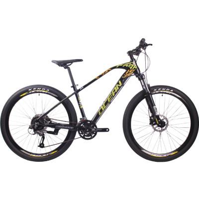 27.5 inch Aluminum alloy frame SHIMANO M370 27 speed Hydraulic disc brake Mountain bike MTB bicycle