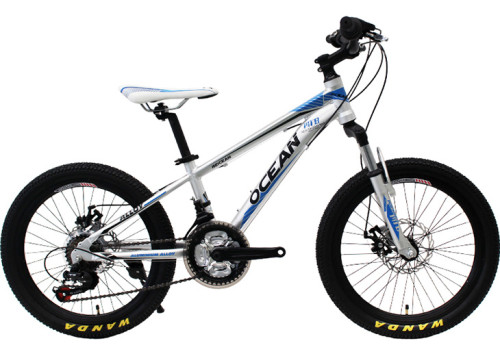 20 inch Alloy frame alloy Steel suspension fork 21 speed Double disc brake Kids bicycle OC-17M20021A03