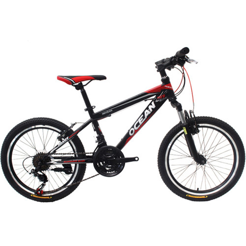 20 inch steel frame alloy Steel suspension fork 21 speed Double disc brake Kids bicycle