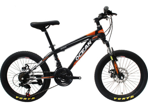 20 inch steel frame alloy Steel suspension fork 21 speed Double disc brake Kids bicycle OC-17M20021S05