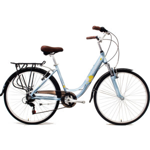 Commuter bike Sharing bicycles 26 inch Alloy frame Steel fork 7 speed City bike