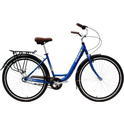 700C Hi-ten steel frame and fork bicycle Coaster brake internal 3 speed city bike commuter bicycle OC-17RS7003SF