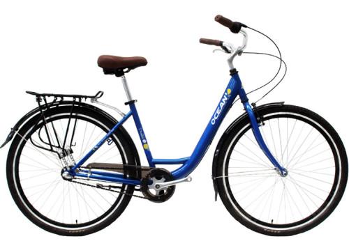 700C Hi-ten steel frame and fork bicycle Coaster brake internal 3 speed city bike commuter bicycle OC-17RS7003SF
