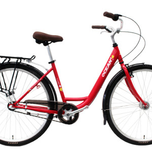 700C Hi-ten steel frame and fork bicycle Coaster brake internal 3 speed city bike commuter bicycle