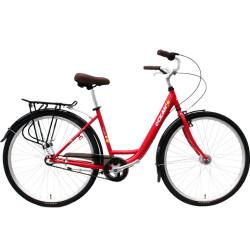700C Hi-ten steel frame and fork bicycle Coaster brake internal 3 speed city bike commuter bicycle