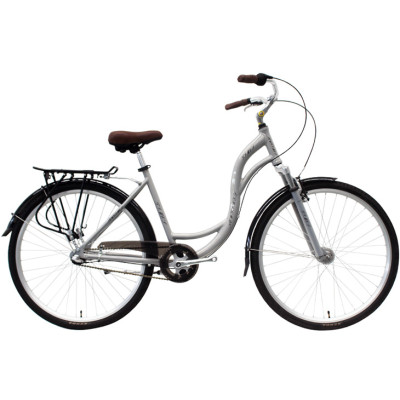 700C Alloy frame and suspension fork bicycle Coaster brake internal 3 speed city bike commuter bicycle