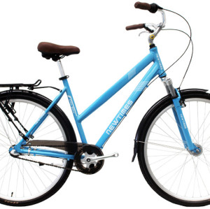 700C Alloy frame Hi-ten steel suspension fork bicycle Coaster brake internal 3 speed city bike commuter bicycle
