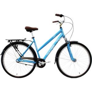 700C Alloy frame Hi-ten steel suspension fork bicycle Coaster brake internal 3 speed city bike commuter bicycle