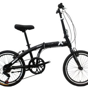 20 inch steel frame and rigid fork folding bike 7 speed V brake folding bicycle