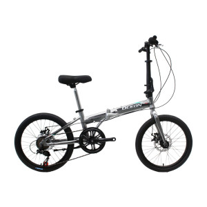 20 inch Alloy frame Steel rigid fork SHIMANO 7 speed double disc brake folding bicycle