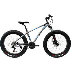 26 inch Alloy frame and alloy lockable Fat beach bike EZ-FIRE 21 speed Disc brake Fat bicycle OC-17M26021FB2