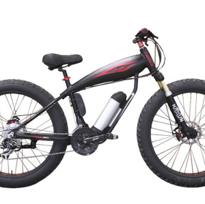 26 inch Aluminum alloy frame and suspension fork SHIMANO 24 speed Disc brake Electric Fat tire bike bicycle