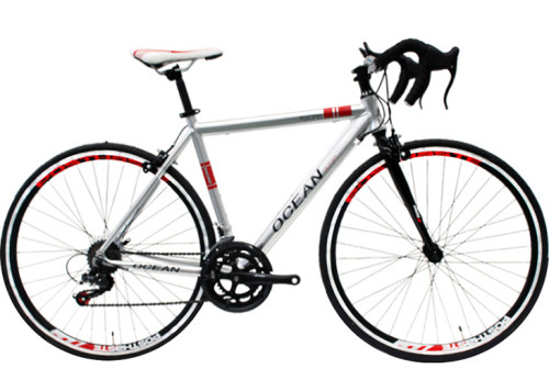 700C racing Alloy frame and Steel rigid fork SHIMANO 14 speed Double wall rim road bike OC-17RS70014AB