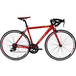 700C racing Alloy frame and Steel rigid fork SHIMANO 14 speed Double wall rim road bike