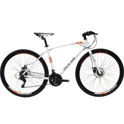 700C racing Alloy frame and Steel rigid fork SHIMANO EZ-FIRE 21 speed Double wall rim road bike