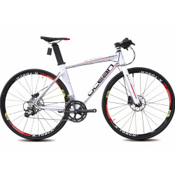 700C Aluminum alloy frame and fork microSHIFTER 18 speed SHIMANO double disc brake Racing bicycle road bike