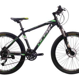 27.5英寸27速山地自行车铝合金车架铝合金移动可锁死前叉液压碟刹山地车
