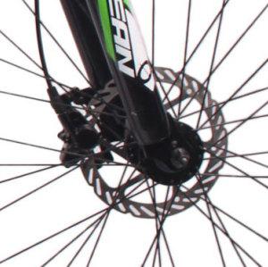 27.5英寸24速山地车铝合金车架铝合金可锁死避震前叉液压碟刹山地自行车