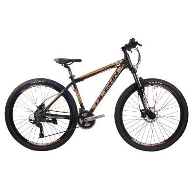 物美价廉26英寸24速山地自行车铝合金车架铝合金可锁死避震前叉液压碟刹山地车