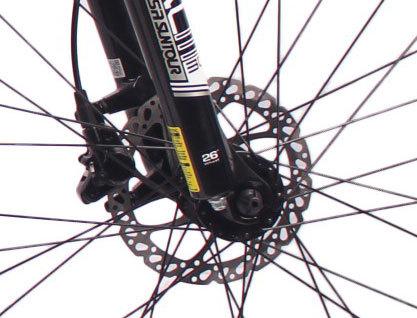 热销2018新款26英寸30速山地车铝合金车架铝合金可锁死避震前叉液压碟刹山地自行车
