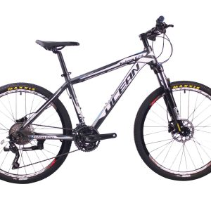 高品质26英寸30速山地自行车铝合金车架铝合金可锁死避震前叉液压碟刹山地车