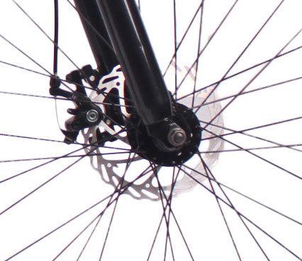 2018新款26英寸21速山地自行车铝合金车架钢质前叉碟刹山地车