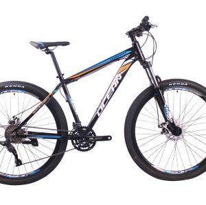 热销2018款29英寸27速山地自行车铝合金车架铝合金可锁死避震前叉碟刹山地车