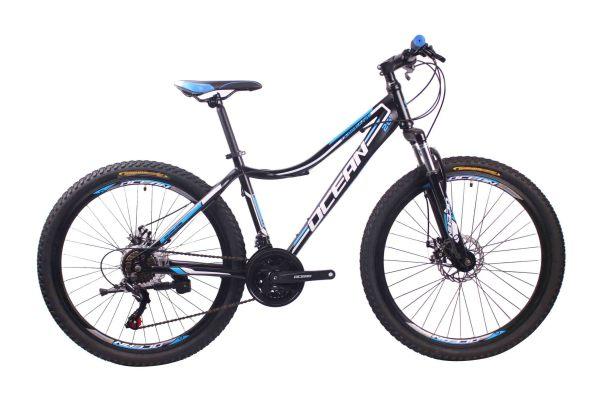 26英寸21速山地自行车钢质车架钢质前叉碟刹山地车