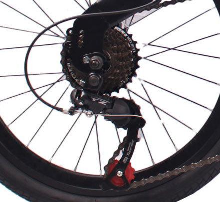 2018新款20英寸7速折叠车自行车钢质车架钢质前叉V刹折叠车