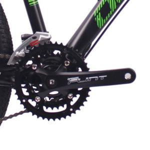 26英寸27速山地自行车铝合金车架铝合金可锁死避震前叉液压碟刹山地车
