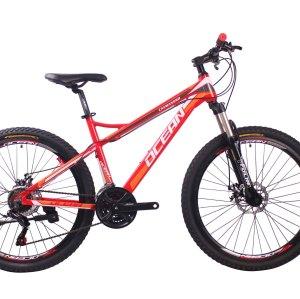 26英寸21速山地自行车铝合金车架铝合金可锁死避震前叉液压碟刹山地车