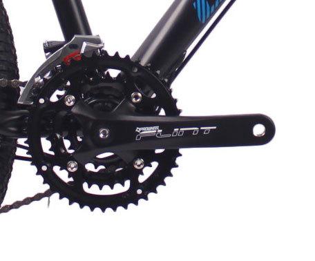 26英寸27速山地自行车铝合金车架铝合金可锁死避震前叉液压碟刹山地车自行车